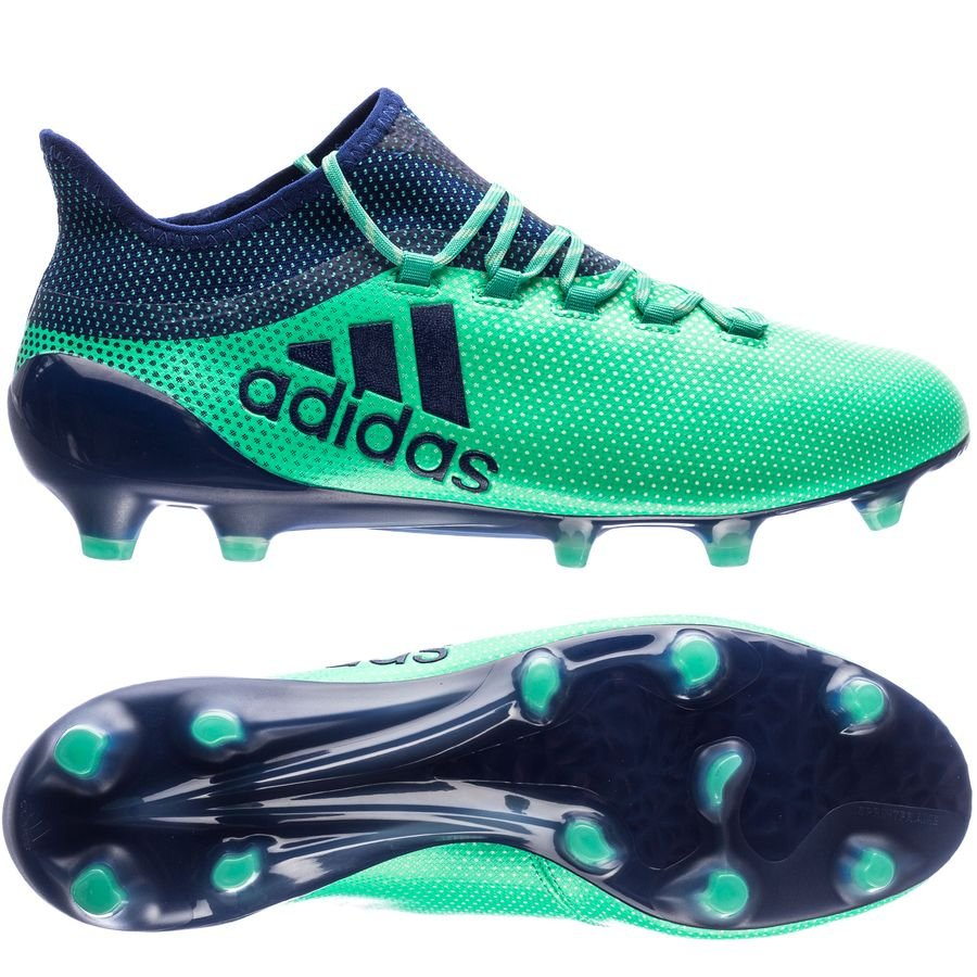 wholesale dealer 58eb0 d0dae adidas x 17.1 fgag deadly strike - aero greenunity inkhi ...