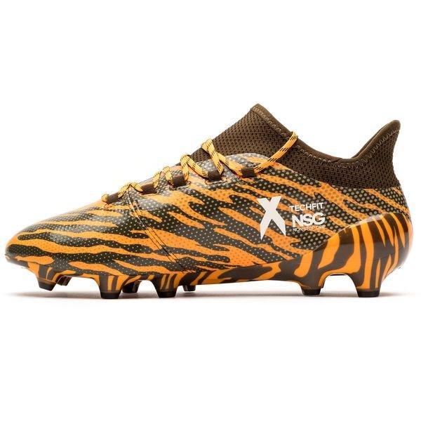 adidas X 17.1 FG/AG Lone Hunter - Orange/Braun/Grün   www ...