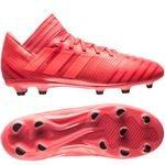 adidas nemeziz 17.3 fg/ag cold blooded - rød børn - fodboldstøvler