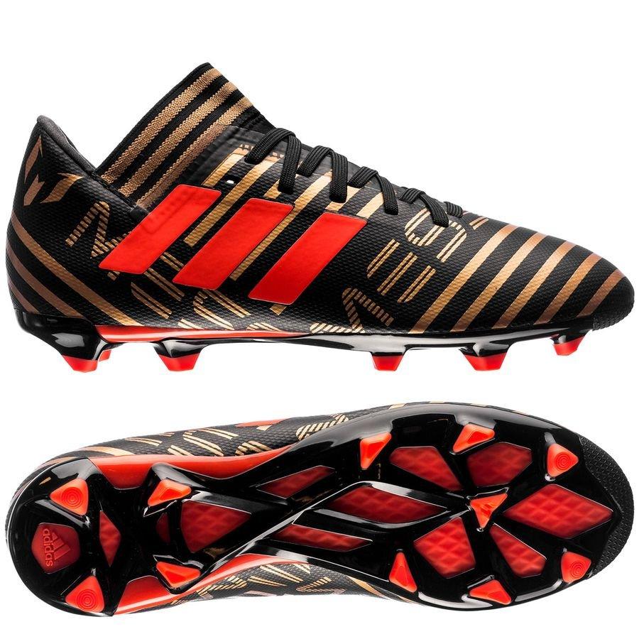 Adidas nemeziz Messi FG / AG skystalker Core Negro / solar red