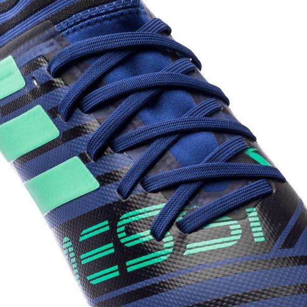 Adidas Messi 17,3 Fg / Ag Grève Mortelle - Bleu / Vert / Noir