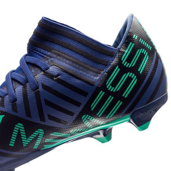 Adidas Messi De 18,3 Fg / Ag Mode D'énergie - Les Enfants Vert / Noir