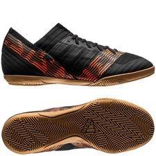 adidas nemeziz tango 17.3 in skystalker - schwarz/gold kinder - hallenschuhe