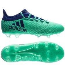 adidas X 17.2 FG/AG Deadly Strike - Groen/Blauw/Groen