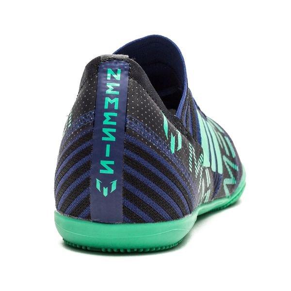 Nemeziz Adidas Messi Tango 17,3 En Grève Mortelle - Enfants Bleu / Vert / Noir