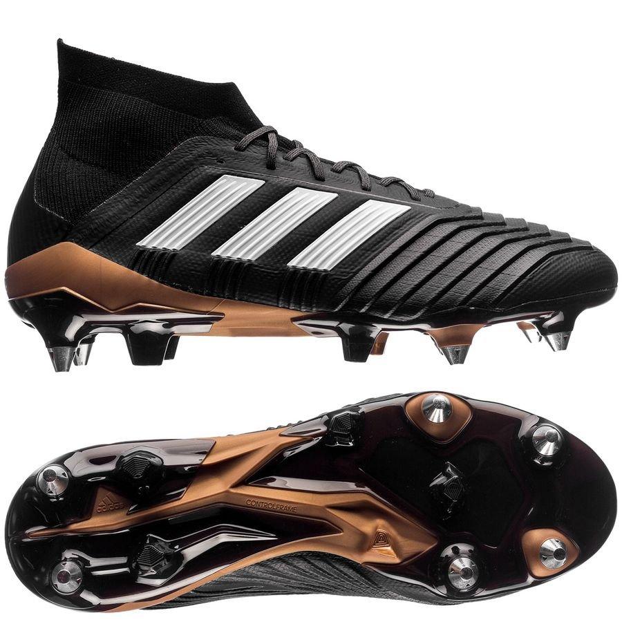 adidas predator 18.1 sg skystalker - core black footwear white metallic gold  - football ... ce87097a14c9