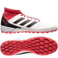 adidas Predator Tango 18.3 TF Cold Blooded - Wit/Zwart/Rood