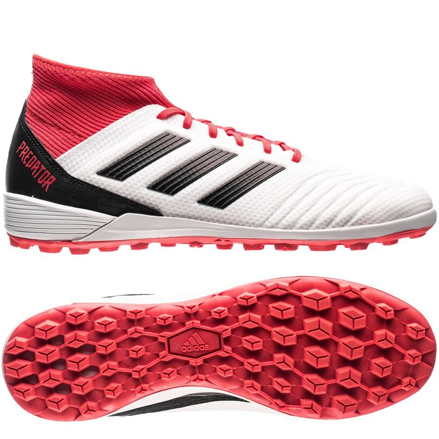 adidas predator tango 18.3 tf cold blooded - footwear white core black real  coral ... 42078df10bbf
