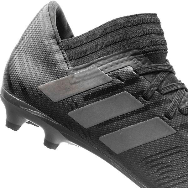 Adidas Nemeziz 17,3 Fg / Ag Crawler Nite - Enfants Noir / Vert
