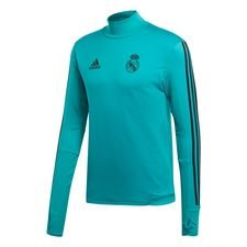 Real Madrid Trainingsshirt - Turquoise/Zwart Kinderen