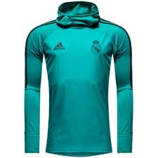 Real Madrid Trainingsshirt Warm - Turquoise/Zwart