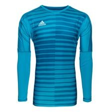 adidas goalkeeper shirt adipro 18 l/s - bold aqua/energy aqua - goalkeeper equipment