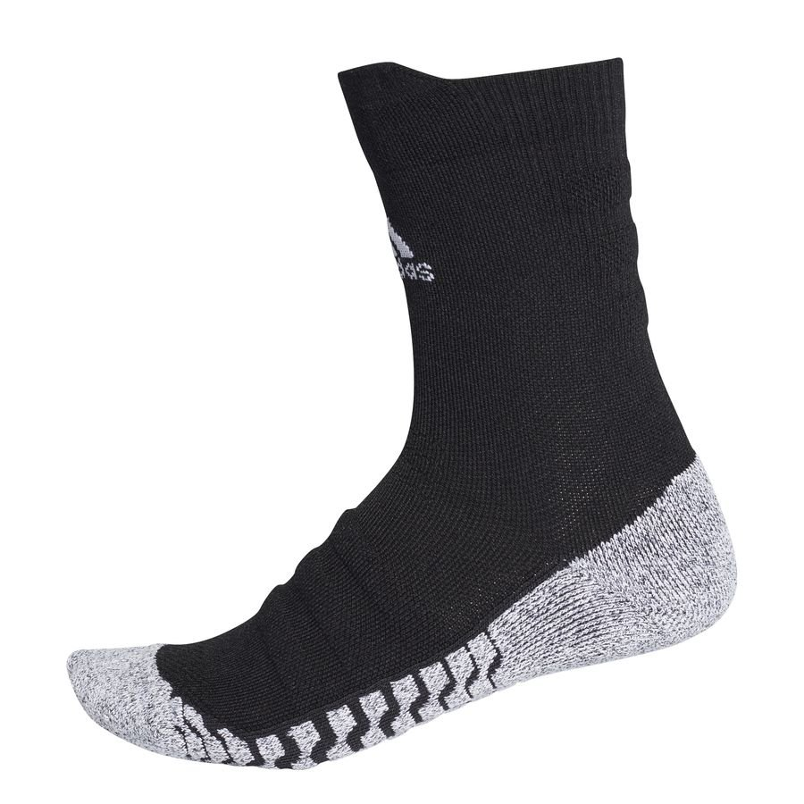 adidas Fodboldsokker Alphaskin Lightweight Cushion Crew - Sort/Hvid thumbnail