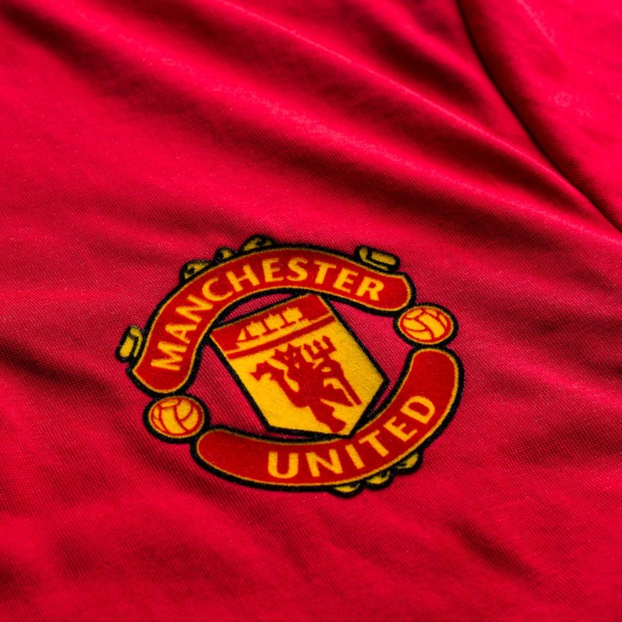 manchester united maillot d 39 entra nement icon rouge blanc. Black Bedroom Furniture Sets. Home Design Ideas