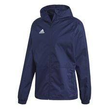 adidas rain jacket condivo 18 - dark blue/white - rain jackets
