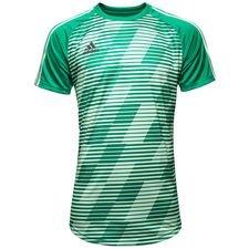 adidas trænings t-shirt tango graphic deadly strike - grøn - træningstrøjer