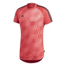 Image of   adidas Trænings T-Shirt Tango Graphic Cold Blooded - Rød/Sort