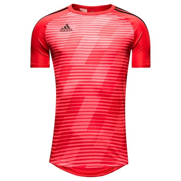 882d684b adidas Trenings T-Skjorte Tango Graphic Cold Blooded - Rød/Sort Barn ...