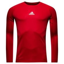 adidas baselayer alphaskin sport l/æ - rød børn - baselayer