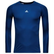 Image of   adidas Baselayer Alphaskin Sport L/Æ - Navy Børn