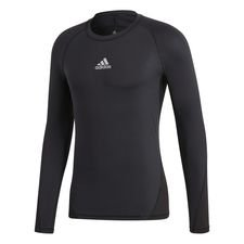 Image of   adidas Baselayer Alphaskin Sport L/Æ - Sort Børn