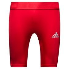 adidas baselayer alphaskin sport tights - rød - baselayer