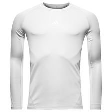 adidas Baselayer Alphaskin Sport L/S - White