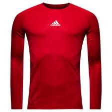 Image of   adidas Baselayer Alphaskin Sport L/Æ - Rød
