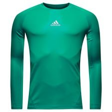 Image of   adidas Baselayer Alphaskin Sport L/Æ - Grøn