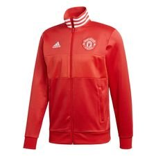Manchester United Track Top 3-Stripes - Röd