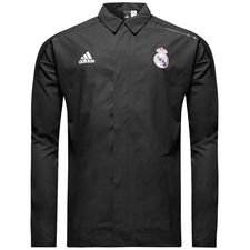 Real Madrid Jacka Z.N.E. Woven - Svart Barn
