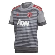Manchester United Tränings T-Shirt Pre-Match - Grå Barn