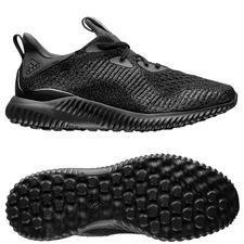 adidas running shoe alphabounce em - core black/carbon - running shoes
