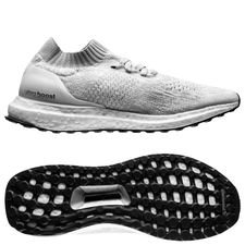 adidas ultra boost uncaged - footwear white/core black kids - running shoes