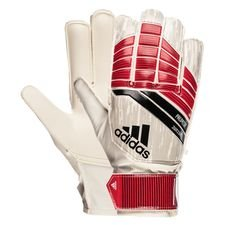 adidas goalkeeper gloves predator junior cold blooded - real coral/black/white kids - goalkeeper gloves