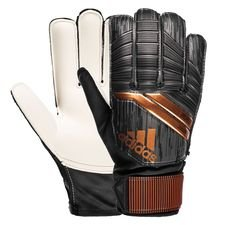 adidas goalkeeper gloves predator junior skystalker - black/solar red/copper gold kids - goalkeeper gloves