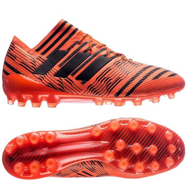 263329782c64a 280.00 EUR. Price is incl. 19% VAT. -70%. adidas Nemeziz 17.1 AG Pyro Storm  - Solar Orange Core Black Solar Red