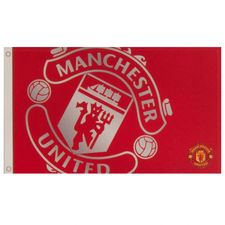 manchester united flag logo - red - merchandise