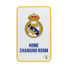 Real Madrid Thuisshirt Kleedkamer Bord