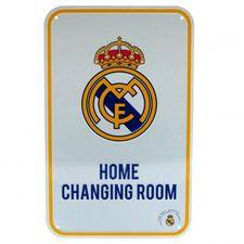 Real Madrid Hemmatröja Omklädningsrum Skylt