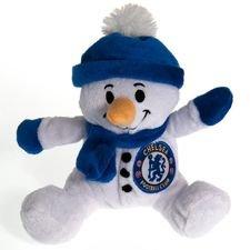 chelsea snemand tøjbamse - hvid/blå - merchandise