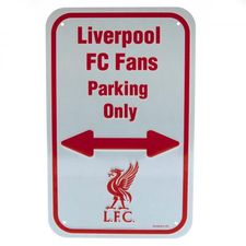 Liverpool 'Liverpool FC Fans Parking Only' Skylt