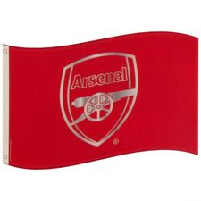 arsenal flag logo - rød - merchandise