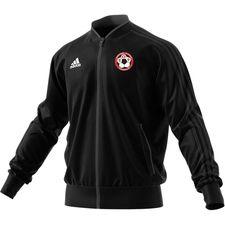 toksværd olstrup fodbold - træningsjakke sort børn - træningsjakke