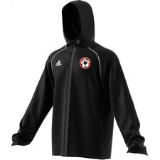toksværd olstrup fodbold - regnjakke sort børn - træningsjakke
