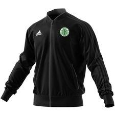brede if - træningsjakke sort - træningsjakke