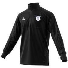 deportivo montecristo - træningstrøje sort børn - træningsjakke