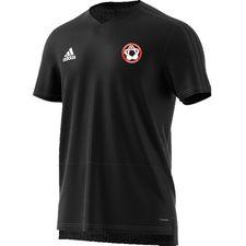toksværd olstrup fodbold - trænings t-shirt sort - træningstrøjer