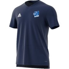 lyngby bk - trænings t-shirt navy - træningstrøjer