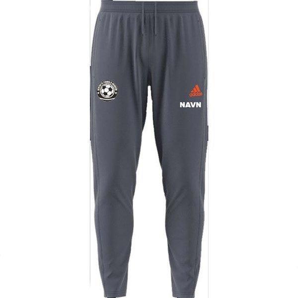 gentofte fodbold akademi - træningsbukser grå - træningsbukser